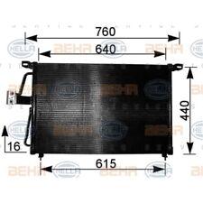 ORIGINAL HELLA Klimaanlage Kondensator Opel Omega B Bj.94- 8FC351037-611