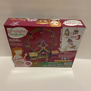 K'NEX Mighty Makers Fun On The Ferris Wheel Girl Building Set 100% Complete