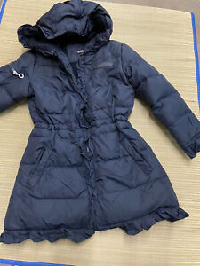 DKNY Girls Fleece Jacket Down Alternative Coat