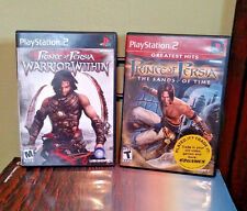 Prince of Persia: Warrior Within and Sands of Time Bundle (2 Games) Ps2 Complete