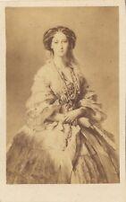 L'impératrice de Russie Россия Marie Alexandrovna par E. Desmaisons Paris cdv