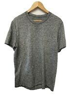Lululemon Men's Metal Vent Tech Gray Activewear T-Shirt Sz XL crew neck