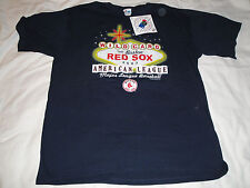 Boston Red Sox 2003 Wild Card Series American League T-Shirt Majestic XL