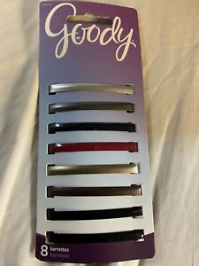 GOODY - Classic Stay Barrettes - 8 Count