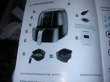 New e'cucina Healthy Oil Free Air Fryer