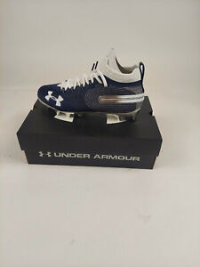 Under Armour Men's UA Spotlight MC Football Cleats, Size 11 Brand new Blue