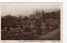 THE GARDENS, BALCARRES HOUSE, COLINSBURGH: Fife postcard (C4713).