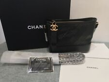 BRAND NEW **AUTHENTIC** CHANEL A91810  vintage calfskin, black small Square