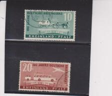 Germ. 6N39-40 used CV $38. (Both stamps have minor face scuffs;  discounted)