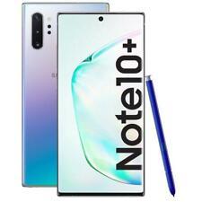 Samsung Galaxy Note 10Plus Grado A+++Come Nuovo 256GB N970F DS Silver Rigenerato