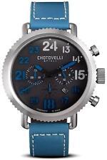 Chotovelli Figli Italy  7200-12 Luxury Chronograph Pilot Watch