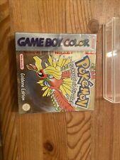 Pokémon: Goldene Edition Nintendo Game Boy Color 2001 Neu Ovp Sealed Verschweißt