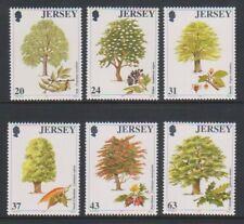Jersey - 1997, Trees set - MNH - SG 830/5