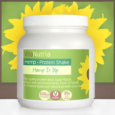 Hemp Protein Powder with superfoods, High Quality Natural Diet & Fitness Shake