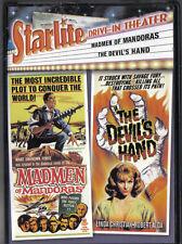 Starlite Drive-In Theater - Madmen of Mandoras/The Devil's Hand~MINT DVD 2006