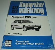 Reparaturanleitung Peugeot 205 Diesel ab Baujahr Sommer 1983 Bucheli NEU!