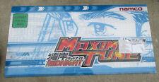 """MAXIMUM TUNE MIDNIGHT NAMCO   27 - 13 1/2"""" arcade game sign marquee"""