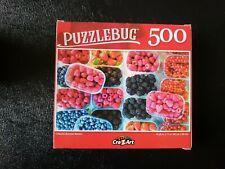 CRA Z ART Puzzlebug SUMMER BERRIES Jigsaw Puzzle 500 piece SEALED 18.25 x 11