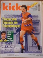 KICKER 74 - 12.9. 1994 L.Matthäus Pokal Schalke-HSV 3:2 Dresden-Uerdingen 1:0