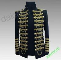 Mens Tassles Bar Performance Stage Long Sleeve Coats embroidery Blazers Jackets
