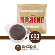 600 Cialde Caffè Moreno Espresso Bar in carta ESE 44mm