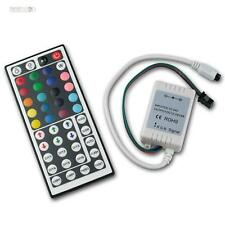 LED RGB Controller m ir control remoto Extended para LEDs, control RGBS LEDs