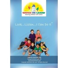 Look Listen I Can Do It! By Watch Me Learn & CD Combo On DVD with many D36