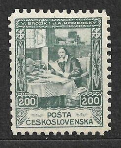 Czechoslovakia, Not issued proof  200heller