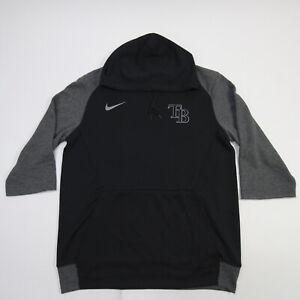 Tampa Bay Rays Nike Dri-Fit Sweatshirt Men's Black/Gray Used