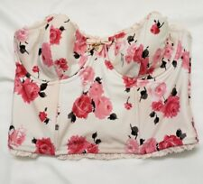 Juicy Couture Tea Rose Bustier Underwire w/Charms Small (P)