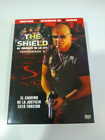 The Shield Tercera Temporada 3 Completa - 4 x DVD Español Ingles