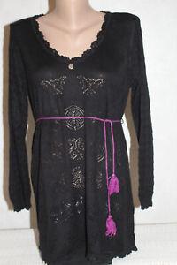 ODD  MOLLY  Damen  Pullover – Tunika, Schwarz  Gr. XL(4)