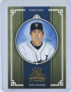 2005 Diamond Kings JUSTIN VERLANDER RC Rookie #265 (Tigers) (Astros) NM