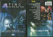 RARE / DVD - STING ( THE POLICE ) EN CONCERT LIVE