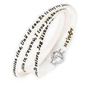 Original AMEN Bracelet TI AMO Unisex - MY-TA07-60