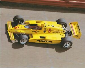 1984 Rick Mears Pennzoil Z-7 Special Cosworth Penske March Indy Car postcard