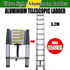 3.2M Aluminum Telescopic Telescoping Collapsible Loft Stretchable Ladder 10.5ft