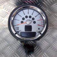 Rev Counter Revolution Chrome Petrol 9201397 MINI One Cooper S R55 R56 R57 06-13