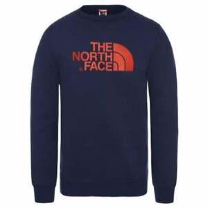 Felpa uomo The North Face DREW PEAK CREW - col.Montague Blue
