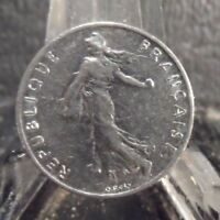 CIRCULATED 1978 1/2 FRANC FRENCH COIN (101718)1.....FREE DOMESTIC SHIPPING