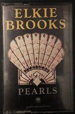 ELKIE BROOKS - PEARLS - Cassette Album - 1981 - Paper Label - TESTED - Excellent