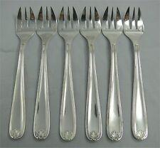 Christofle modèle Marot (Berain), 6 fourchettes à huitres, excellent état. 1/2.