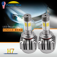 2x Car 180W 18000LM H7 LED Conversion Headlight Bulbs KIT Hi/Lo Beam Light 6000K