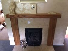 """6""""/3"""" SOLID OAK BEAM, Wooden, Rustic Fireplace Surround, Made to MEASURE!!!"""