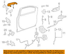 GM OEM-Outside Exterior Door Handle 25936893