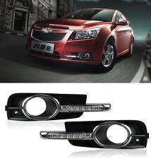 High-profile LED Fog Daytime Running Light Lamps Chevrolet Cruze 09 10 11 12 13
