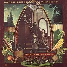 Goose Creek Symphony - Words of Earnest [New CD]