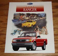 Original 1997 Ford Truck Ranger Sales Brochure 97