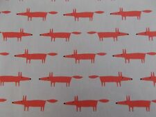 Harlequin Scion Little Mr Fox Neutral/paprika 3 Metres 100 Cotton