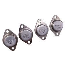 Us Stock 4pcs 2n3055 Npn Af Amp Audio Power Transistor 15a60v